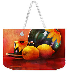 Provence Reflections Weekender Tote Bag