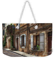Provence Street Scene Weekender Tote Bag
