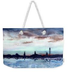 Provincetown Skyline 1 Weekender Tote Bag