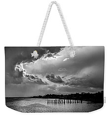 Weekender Tote Bag featuring the photograph Provincetown Storm by Charles Harden