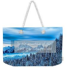 Provision Weekender Tote Bag