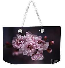 Prunus A Pink Spring Weekender Tote Bag