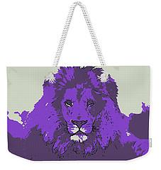 Pruple King Weekender Tote Bag