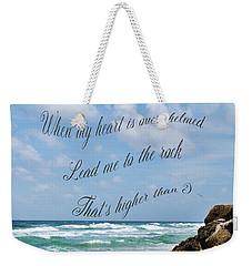 Psalm 61 Weekender Tote Bag