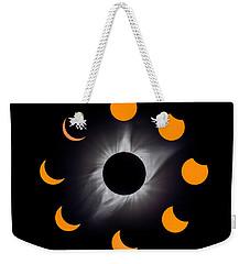 Psalm Nineteen Solar Eclipse Weekender Tote Bag