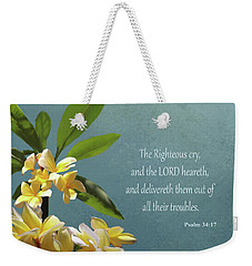 Psalms 01 Weekender Tote Bag