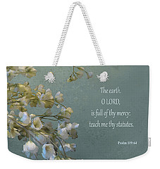 Psalms 03 Weekender Tote Bag