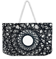 Psychedelic Concentric Circle Weekender Tote Bag