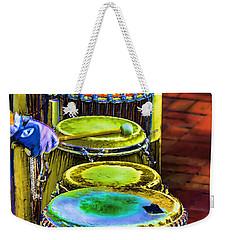 Psychedelic Drums Weekender Tote Bag