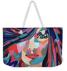 Psychedelic Jane Weekender Tote Bag