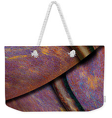 Weekender Tote Bag featuring the photograph Psychedelic Pi by Paul Wear