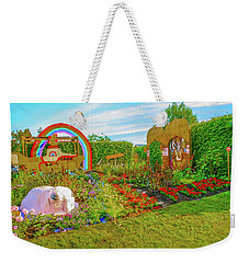 Weekender Tote Bag featuring the photograph Psychedelic Rock by Leif Sohlman