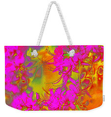 Psychedelic Spring Azaleas Weekender Tote Bag