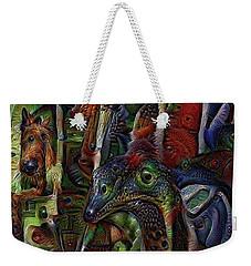 Psychedelic Visions Weekender Tote Bag