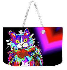 Psycho Dizzycat Weekender Tote Bag