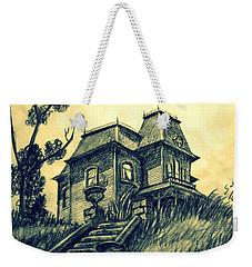 Psycho Weekender Tote Bag by Salman Ravish