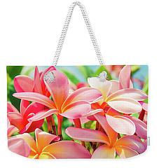 Pua Melia Ke Aloha Maui Weekender Tote Bag