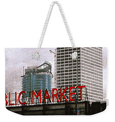 Public Market Weekender Tote Bag by David Blank