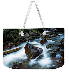 Puddle By The Creek Weekender Tote Bag