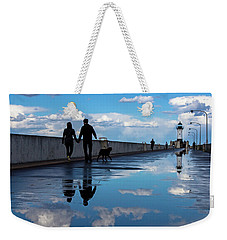 Puddle-licious Weekender Tote Bag by Mary Amerman