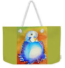 Pudgy Budgie Weekender Tote Bag
