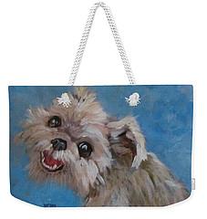 Pudgy Smiles Weekender Tote Bag
