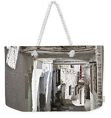 Weekender Tote Bag featuring the photograph Puebla Blanca Capileira by Heiko Koehrer-Wagner