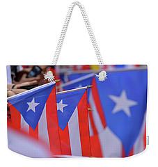 Puerto Rican Flag Weekender Tote Bag