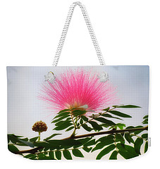 Puff Of Pink - Mimosa Flower Weekender Tote Bag