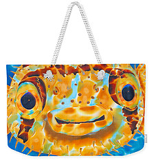 Puffer Fish Weekender Tote Bag