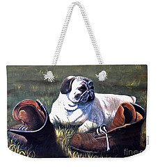 Pug And Boots Weekender Tote Bag