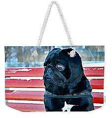 Pug In Deutschland Weekender Tote Bag