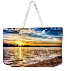 Puget Sound Sunrise Weekender Tote Bag