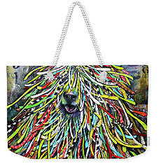 Hungarian Sheepdog Weekender Tote Bag