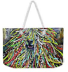Hungarian Sheepdog Weekender Tote Bag