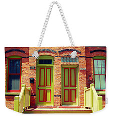 Pullman National Monument Row House Weekender Tote Bag