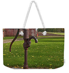Weekender Tote Bag featuring the photograph Pump 13951 by Guy Whiteley
