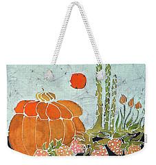 Pumpkin And Asparagus Weekender Tote Bag