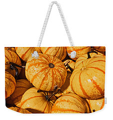 Pumpkin Harvest Weekender Tote Bag