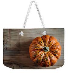 Pumpkin Weekender Tote Bag by Nailia Schwarz