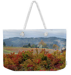 Pumpkin Patch Farm In Oregon Weekender Tote Bag