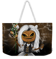 Pumpkin Spice Latte Monster Fantasy Art Weekender Tote Bag