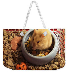 Pumpkin With Pumpkin Weekender Tote Bag