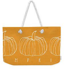 Pumpkins- Art By Linda Woods Weekender Tote Bag by Linda Woods