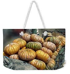Pumpkins In The Cart  Weekender Tote Bag
