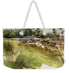 Pumpkins On Rt. 13 Weekender Tote Bag by Judith Levins