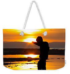 Punching The Sun Weekender Tote Bag by RKAB Works