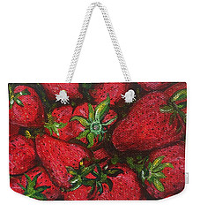 Pungo Strawberries Weekender Tote Bag