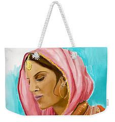 Punjabi Beauty Punjaban Weekender Tote Bag