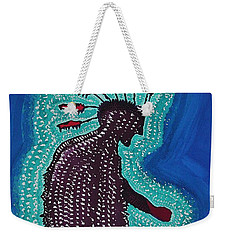 Punk Shaman Original Painting Weekender Tote Bag